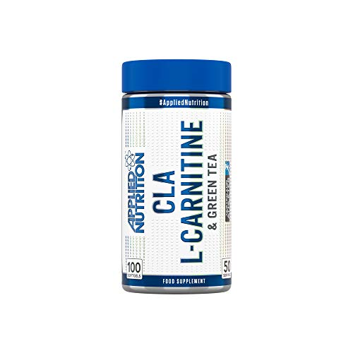 CLA, L-CARNITINE & GREEN TEA Applied Nutrition