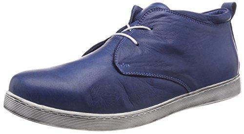 Andrea Conti Damen 0341522 Hohe Sneaker, Blau (Jeans), 40 EU