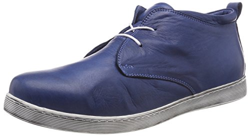 Andrea Conti Damen 0341522 Hohe Sneaker, Blau (Jeans), 42 EU