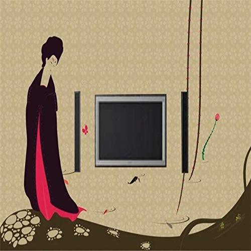 Muurschildering Custom 3D grote muurschildering behang Hd oude tekens foto muur TV sofa achtergrond muur woonkamer slaapkamer huis decoratie 290cm(H)×480cm(W)