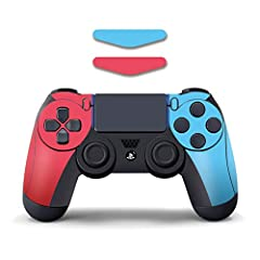 Removable PVC adhesive, strong adhesion, with ventilation groove, sticks without blistering, leaves no glue residue, no shrinkage, no warping Paste with no bubbles and no adhesive residue, the color rendering rate is 99% Makes your controller an excl...
