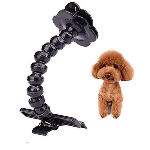 WDJGYHNANA Hund Selfie Kann für Hunde Katzen Fotografie verwendet Werden Tragbarer Dog Selfie Stick kann für Tierbedarf Verwendet Werden Jederzeit und überall Perfekte Fotos zu Machen(Schwarz)
