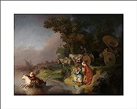 The Abduction of Europa - 20x16 Art Print by Museum Prints - Rembrandt Harmensz Van Rijn, Workshop of