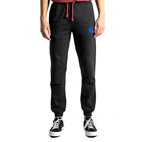 Russell Athletic Ernest Cuff Jogger heren joggingbroek trainingsbroek fitnessmode zwart