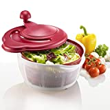 Westmark Germany Salad Vegetable Spinner Dryer with 4 Non Slip Feet 10 Inches