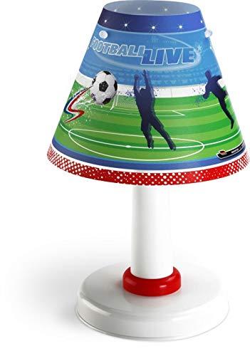Dalber Football Tischlampe Kinder, Kunststoff, mehrfarbig
