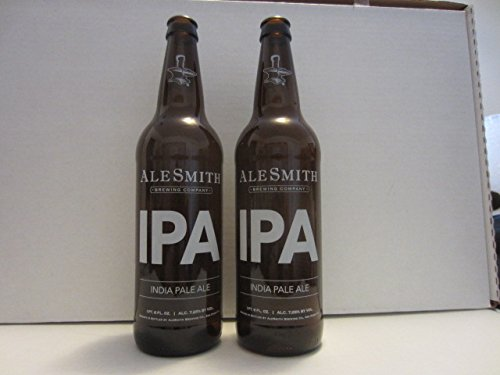 Set of 2 Alesmith Brewing Company San Diego CA IPA India Pale Ale Craft Beer Empty Bottles