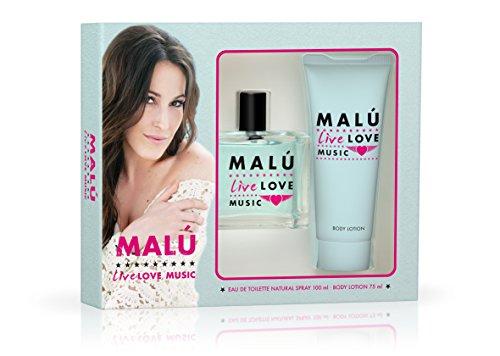 Malu Live 8411061816363 - Agua de Tocador para Mujeres - 2 Piezas
