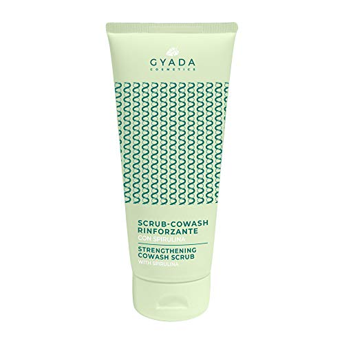 Gyada Cosmetics SCRUB CO-WASH RINFORZANTE CON SPIRULINA ● CERTIFICATO BIO ● MADE IN ITALY ● 200 ml