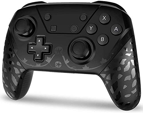 Wireless Switch Pro Controller for Nintendo Switch/lite, Remote Pro Controller Gamepad Joystick for Switch Console, Supports Gyro Axis, Adjustable Turbo and Dual Vibration