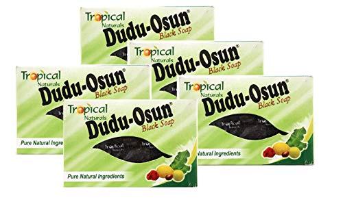 Dudu-Osun - Schwarze Seife aus Afrika (5 x 150 g)