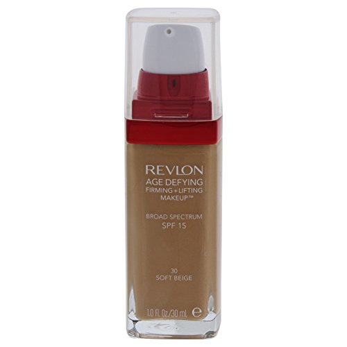 Revlon Age Defying Firming and Lifting Makeup, Soft Beige (packaging may vary)