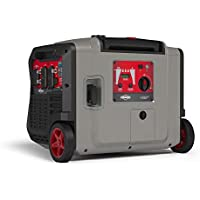 Briggs & Stratton P4500 Power Smart Series Inverter Generator with Electric Start, CO Guard, and Quiet Power Technology, 4500 Starting Watts 3700 Running Watts