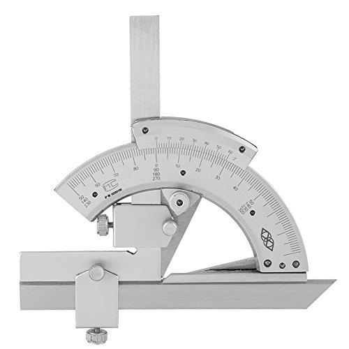 Universeller Kohlenstoffstahl Nonius Neigungs Winkelmesser 0-320 °, Präzisions Winkel Messlineal Werkzeuge
