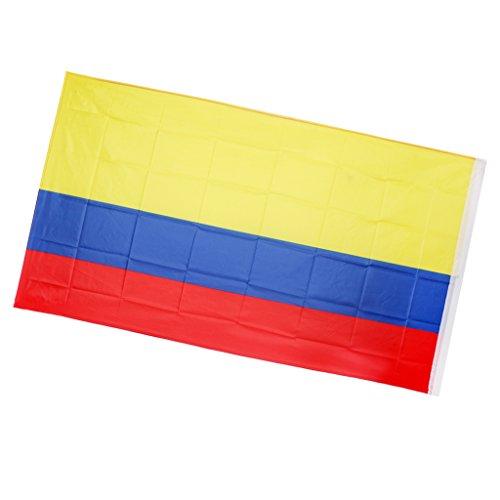 MagiDeal Drapeau Colombie Colombie drapeau 90 x 150 cm Drapeau national