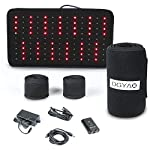 TUOB Red Light Near Infrared Therapy Led Benefits Back Pain Reliever Home Use Wearable Wrap Deep Penetrating Heals Lighting Pad Relief for Arthritis Feet Joints Muscle Knee Inflammation Nerve Damage