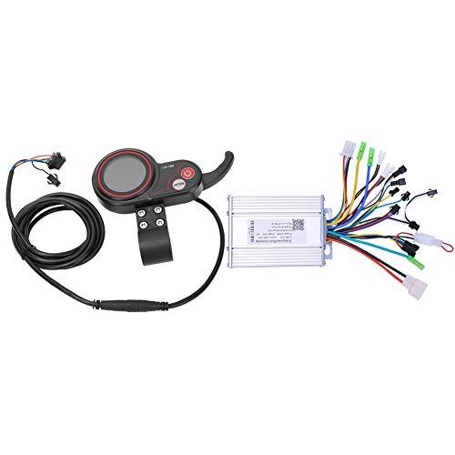 Controller-LH100 36V 450W 2 en 1 Controlador de Bicicleta de montaña Scooter eléctrico con Accesorio de Cambio de Pulgar LCD