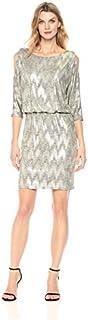 فستان بلوزة حريمي من Jessica Howard بكتف بارد