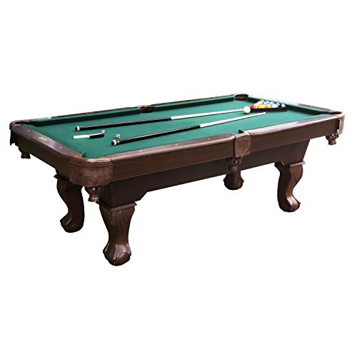 Barrington Springdale 90' Claw Leg Billiard Table Set with Cues, Rack,...