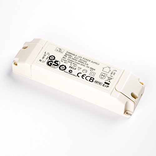 LED Driver VIG dimmbar 36W 500mA 43-72V K27-36T500 Power Supply dimmable