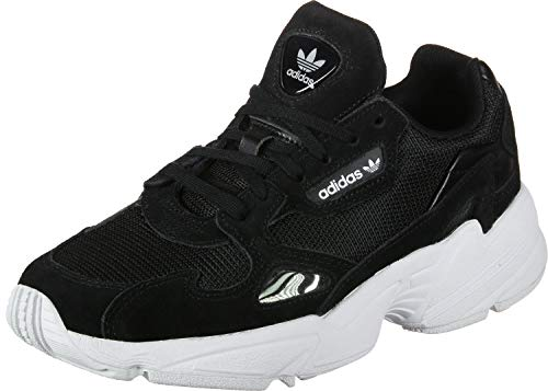 adidas Falcon W, Running Shoe Womens, Core Black/Core Black/Footwear White, 38 EU