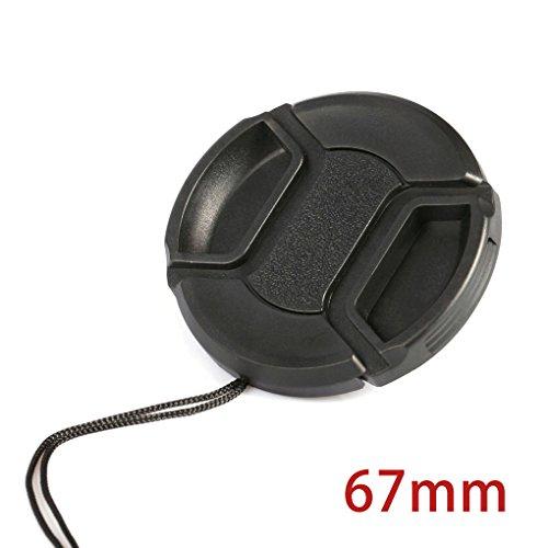 Befaith Tapa frontal universal para cámara Canon Snap-on para Canon Nikon 46/49/52/55/58/62/67/72 / 77mm 67mm