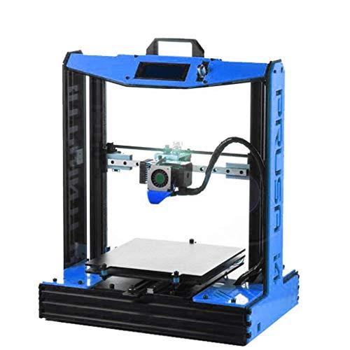 Impresora 3D Casera, Metal 4 Colores Opcionales Alta Precisión Escritorio Impresora, Versión Mejorada De MK8 (Color : Blue)