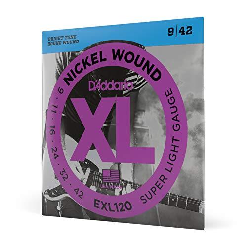 D'Addario EXL120 - Juego de cuerdas para guitarra...