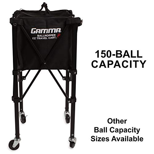 Gamma Sports EZ Travel Cart Pro Ball Hopper 150