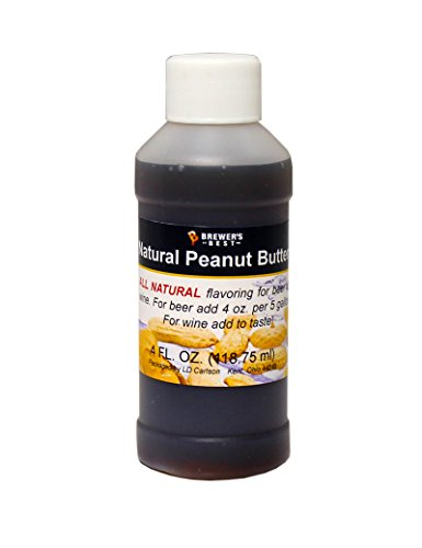 Brewer's Best Natural Beer and Wine Fruit Flavoring (Peanut Butter)