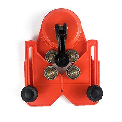 Baldosas de cerámica agujero localizador Taladro Bit agujero consideró Guía plantilla del accesorio de succión al vacío Base para Wall Suelo de medición Herramientas manuales Herramienta y Accesorios