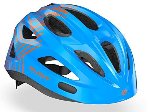 Rudy Project Rocky Helmet Kinder Blue-orange Shiny 2020 Fahrradhelm