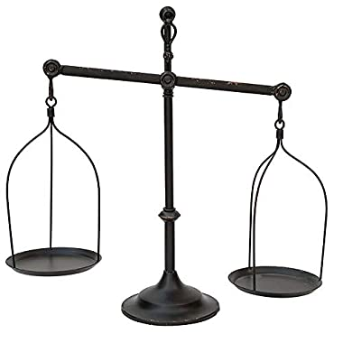 Decorative Antique Iron Balance Scale Replica