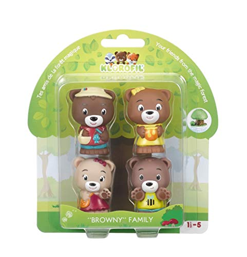 Klorofil- Famille Browny Personnages À Collectionner, 700300, Multicolore