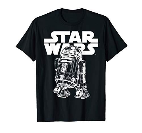 Star Wars R2-D2 Looking Good Classic Logo T-Shirt
