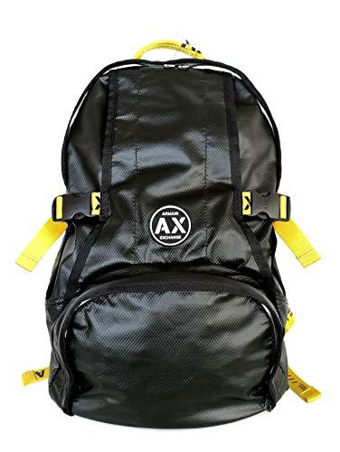ARMANI EXCHANGE AX zaino in tessuto tecnico 952184 9A026 nero