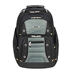 Padded laptop compartment with zippered pocket for small accessories Three additional large compartments for everyday gear and accessories Padded, contoured shoulder straps Soft-lined pocket on top for sunglasses Hidden zippered pocket on the back Ru...