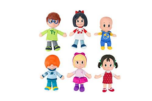 Cleo & Cuquin Pack broers en zussen, poppen van de telerin-familie (Mattel FNJ33)