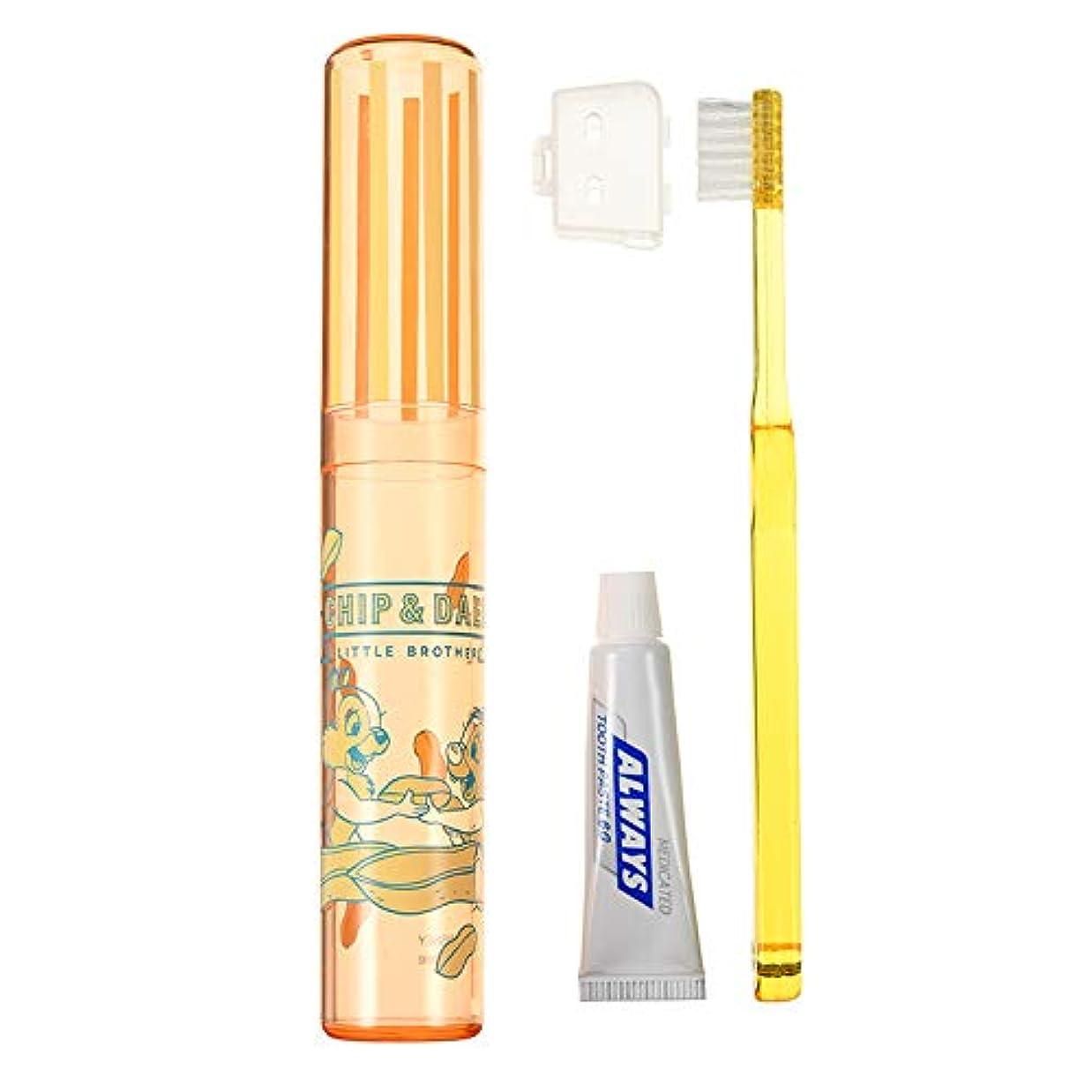 免除事故体現するディズニーストア(公式)歯ブラシ セット チップ&デール