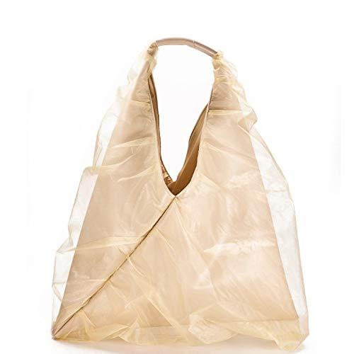 Confortabil Neceser de hilo de raíz, hada, bolso de mano de hilo de red, gran capacidad, tridimensional, bolsa de la compra para mujer, 48 x 60 cm