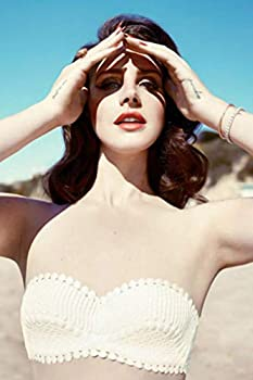 Art Poster Lana Del Rey Star 16x 24 inches Fabric Cloth Rolled Wall Poster Unframed for Wall Decoration