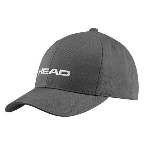 HEAD Unisex-Erwachsene Promotion Cap, Anthracite/Grey, Einheitsgröße
