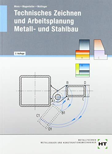 eBook inside: Buch und eBook Technisches Zeichnen und Arbeitsplanung - Metall- und Stahlbau