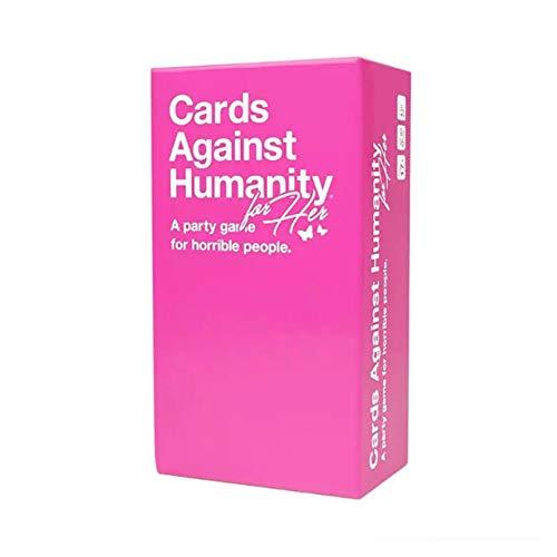 LHYAN Karten gegen die Menschlichkeit für Frauen, eine Party-Spiel für Horrible Menschen