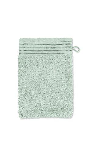 möve Loft gant de lavage 15 x 20 cm en 100% coton (Spinair), celadon