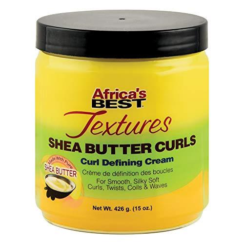 Africa's Best Textures Shea Butter Textures Shea Butter Curls Defining Cream 15 oz. by Africa's Best