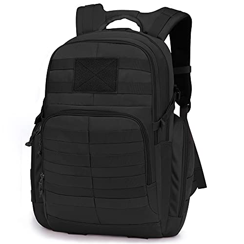 Mardingtop 35L Tactical Backpacks Molle Hiking daypacks for Motorcycle Camping Hiking Military Traveling Black-2-0076