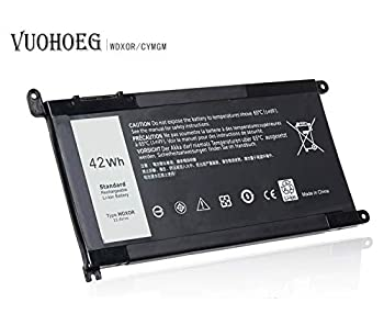 WDX0R Laptop Battery for Dell Inspiron 15 5565 5567 5568 5578 7560 7570 7579 7569 P58F   13 5368 5378 5379 7368 7378 14-7460 Series Notebook Battery WDXOR FC92N 3CRH3 T2JX4 CYMGM