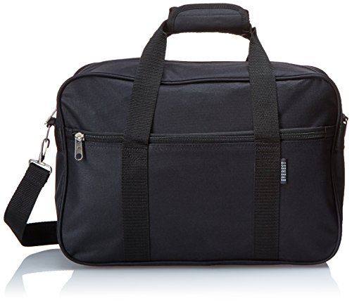Everest Carry-On Briefcase, Black, One Size