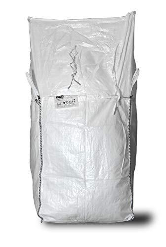Big Bag 90 x 90 x 165 cm, Schürzendeckel, SWL 1.250 kg